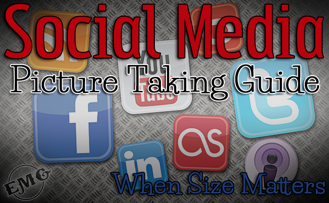 social media picture taking guide