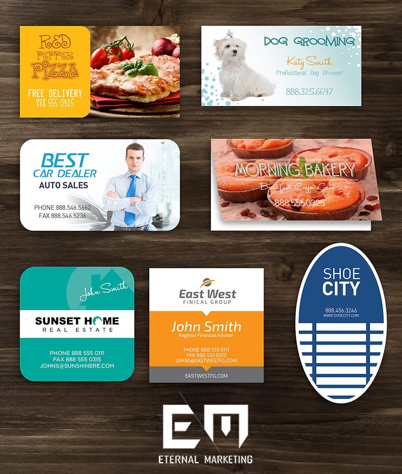 Business Card Printing – Eternal Marketing by Brian Brooks