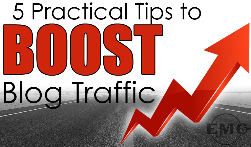 practical tips to boost blog traffic with eternal marketing knoxville tn