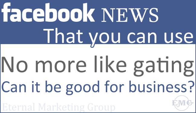 Facebook No More Like Gate